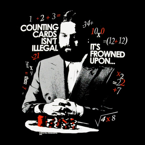 is card counting illegal in vegas