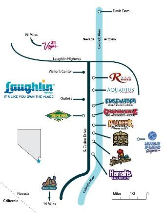 Laughlin casino drive map 39 gambling hall hotel s sam town