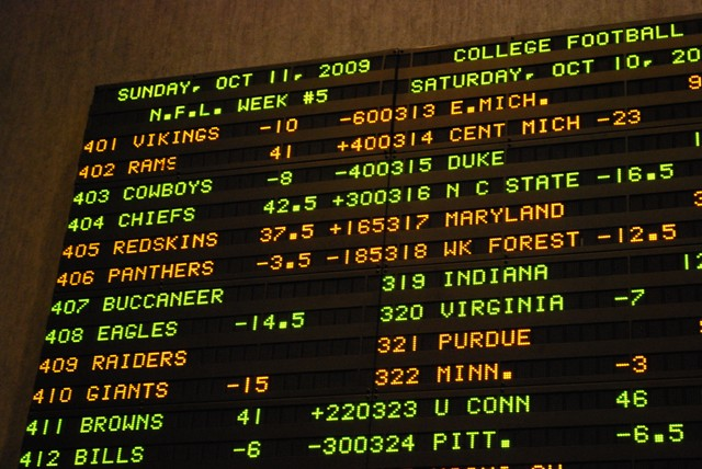 vegas odds college football