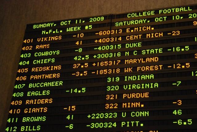 vegas odds college football