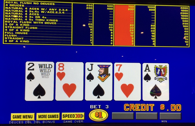 Full pay deuces wild video poker kimberly gamble houston judge