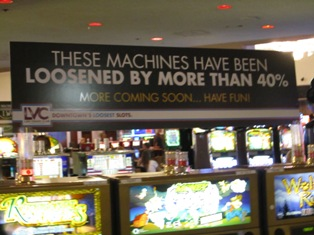 What casino has the loosest slot machines in las vegas